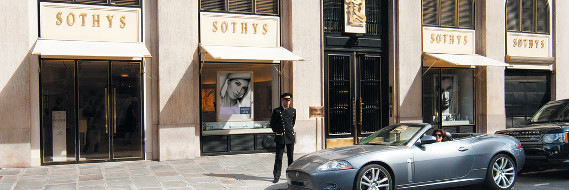 Outsideview of a Sothys shop